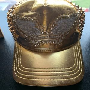 Gold Studded Robin's Jean Hat